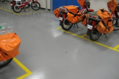 Poly Floor with markings